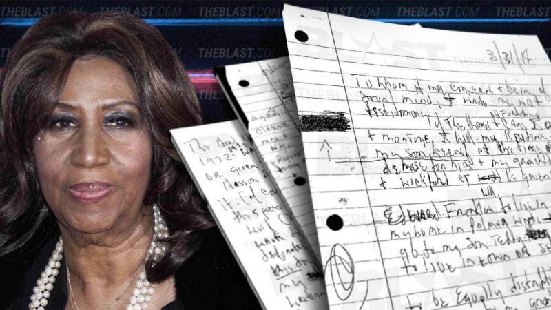 Aretha Franklin -1 Million in Uncashed Checks